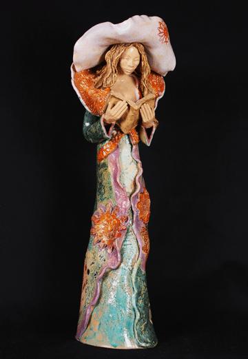 Ceramic Tall Diva