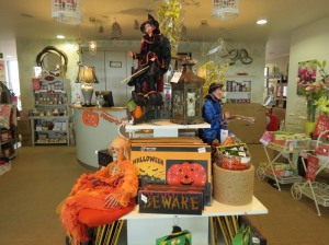 Halloween accessories now available at Home Gallery Interiors