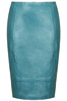 Turquoise skirt from Top Shop €115