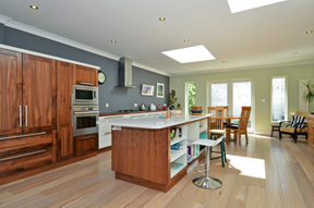 A very user friendly kitchen